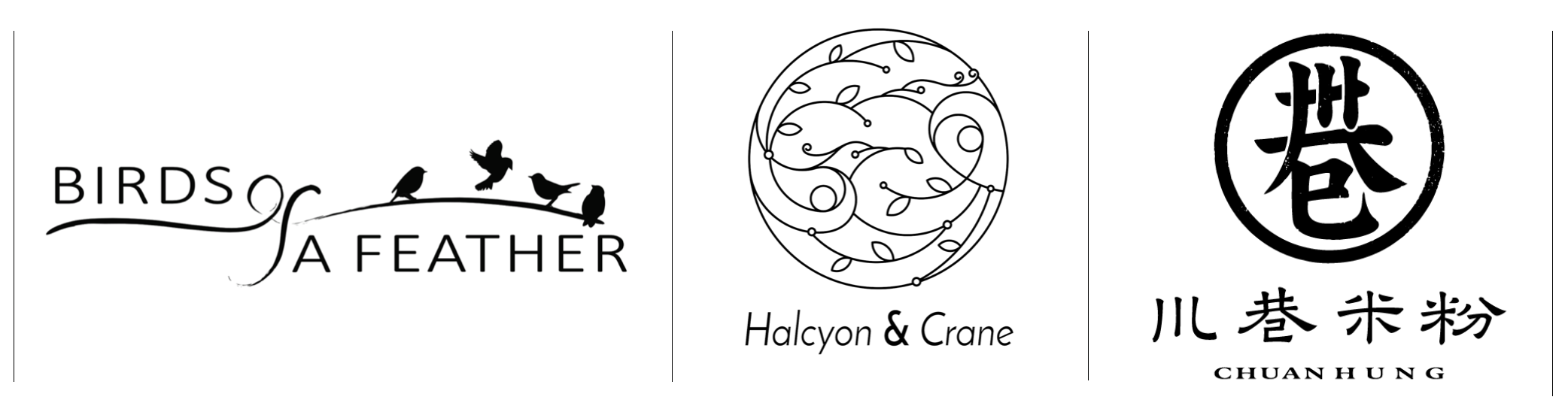 Birds Of A Feather · Halcyon & Crane All-Day Brunch · Chuan Hung Noodle